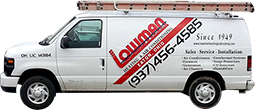 Lowman Heating & Air Company Truck